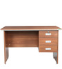 Integra Office cum Study Table in Walnut Regato Colour by HomeTown
