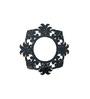 Bryden Decorative Mirror in Black by Amberville