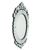 Armitage Decorative Mirror in Silver by Amberville