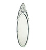 Arlington Decorative Mirror in Silver by Amberville