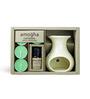 Iris Multicolour Ceramic & Wax 202Ac Apple Cinnamon Fragrance Vaporizer