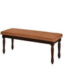 Isabella Dining Bench in Tobacco Finish by @ Home