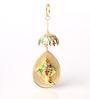 Vyuti Two-sided Hanging Ganesha Key Chain in Multicolor by Mudramark