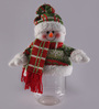 Oriel Christmas Snowman Candy Jar in Multicolour by Amberville