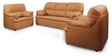 Ivy Sofa Set in Golden Brown Color by Comfort Couch