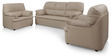 Ivy Sofa Set (3 + 1 + 1) Seater in Mustard Colour Classic Leatherette by Comfort Couch