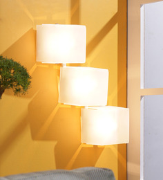Jainsons Emporio Cube 3-Light Wall Light