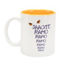 Jaagte Raho Designed 350 ML Coffee Mug in White Colour by Imagica