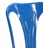Bowen Metal Chair in Blue Color by Bohemiana
