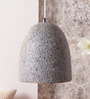 Jainsons Emporio Phosphor Grey Stone Finish Pendant Lamp