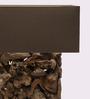 Jainsons Emporio Recta Rooterie Beige Wooden Table Lamp