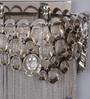 Jainsons Emporio Silver Aluminium Wall Mounted Light