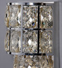 Jainsons Emporio Silver Crystals Hailey Wall Mounted Light