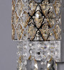 Jainsons Emporio Silver Crystals Medley Wall Mounted Light