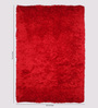 Jaipur Rugs Mars Red Polyester 60 x 96 Inch Area Rug