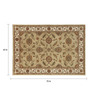 Jaipur Rugs Sand & Antique White Wool 72 x 63 Inch Area Rug