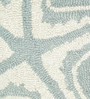 Jaipur Rugs Seaside Blue & Cloud White Wool 60 x 96 Inch Abstract Area Rugs