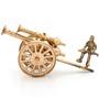 JaipurCrafts Golden Brass Royal Rajasthan Rajputana Canon Showpiece