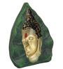 JaipurCrafts Multicolour Stoneware Lord Gautam Buddha Showpiece