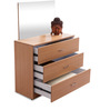 Jasmine Chest of Drawers in Beige Colour by Durian