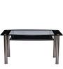 Jasmine Six Seater Dining Table by Nilkamal