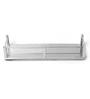 SNB Silver Steel Bathroom Shelf