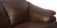 Jinerio Two Seater in Brown Finish by Godrej Interio