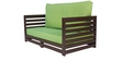 Jinjer Contemporary Sofa Set in Fluorescent Green Colour by ARRA