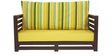 Jinjer Contemporary Sofa Set in Green Lines Delite Colour by ARRA