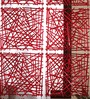 Ubu Screen Divider in Red by Bohemiana