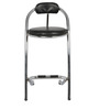 Jingo Bar Chair In Black Color By The Furniture Store
