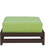 Jinjer Contemporary Low Stool in Fluorescent Green Colour by ARRA