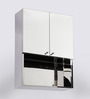 JJ Sanitaryware Lena Stainless Steel Bathroom Mirror Cabinet
