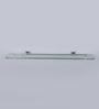 JJ Sanitaryware 1710 Metallic Brass Glass Shelf