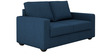 Jordana Two Seater Sofa in Royal Blue Colour by CasaCraft
