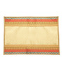 Jodhaa Plain Gold Silk Table Mats - Set Of 6