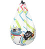 Johnny Bravo Digital Printed Bean Bag Cover in Multicolour by Orka