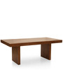 Jordan Six Seater Dining Table in Provincial Teak Finish by The ArmChair