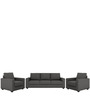 Jordana One Seater Sofa in Royal Grey Colour by CasaCraft