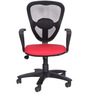 Julius Chair with Fibre Stand in Red Colour by The Furniture Store