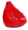 Jumbo SAC Bean Bag (Cover Only) Red Color Colour  by Style Homez
