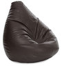 Jumbo SAC Bean Bag Chocolate Brown Color Colour with Beans by Style Homez