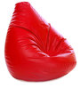 Jumbo SAC Bean Bag Red Color Colour with Beans by Style Homez