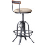 Siglo Bar Furniture in Silver Finish by Bohemiana
