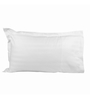 Just Hospitality White Cotton 20 x 30 Pillow Cover - Set of 10