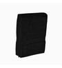 Just Linen Black Cotton 30 x 60 Bath Towel