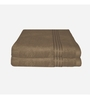 Just Linen Brown Cotton 16 x 24 Hand Towel - Set of 2