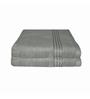 Just Linen Grey Cotton 16 x 24 Hand Towel - Set of 2