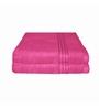 Just Linen Hot Pink Cotton 16 x 24 Hand Towel - Set of 2