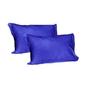 Just Linen Indigo Cotton Single Size Flat Bedsheet - Set of 4